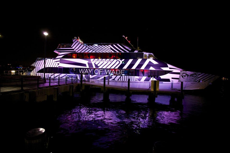 General view of atmosphere at Dwyane Wade's 'Rock The Boat' 32nd Birthday Party on January 11, 2014 in Miami Beach, Florida.