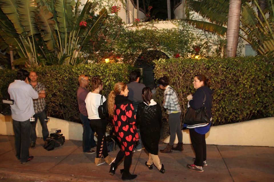MIAMI BEACH, FL - JANUARY 23: Exterior view of Orchid Hotel where Justin Bieber was reported to be staying on January 23, 201