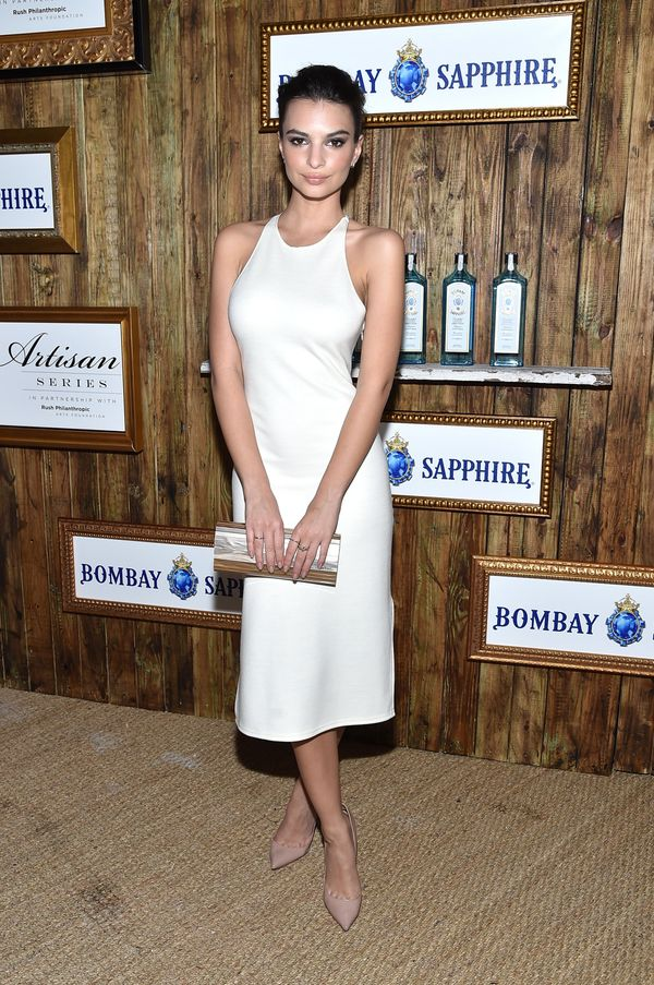 Emily Ratajkowski was spotted at the 5th Annual Bombay Sapphire Artisan Series Finale hosted by Russell Simmons at Soho Beach