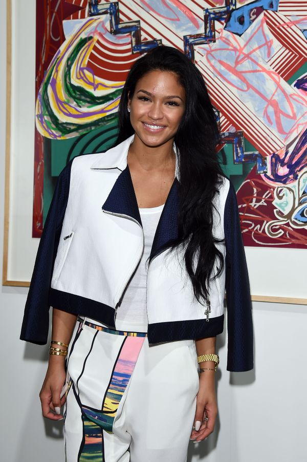 Cassie Ventura was spotted at Art Basel Miami Beach's VIP Preview.