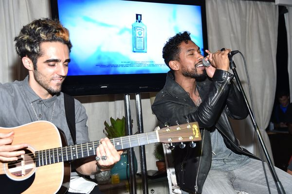 Miguel performed at the 5th Annual Bombay Sapphire Artisan Series Finale hosted by Russell Simmons at Soho Beach House.