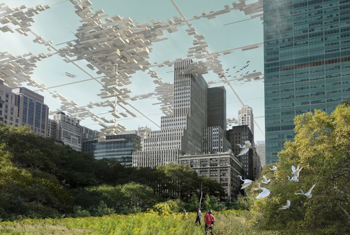 Manhattan Grid Plan Planning The Future Design Of New York City