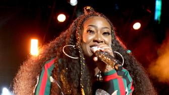 NEW ORLEANS, LA - JULY 07:  Missy Elliott performs onstage during the 2018 Essence Festival presented By Coca-Cola - Day 2 at Louisiana Superdome on July 7, 2018 in New Orleans, Louisiana.  (Photo by Bennett Raglin/Getty Images for Essence)