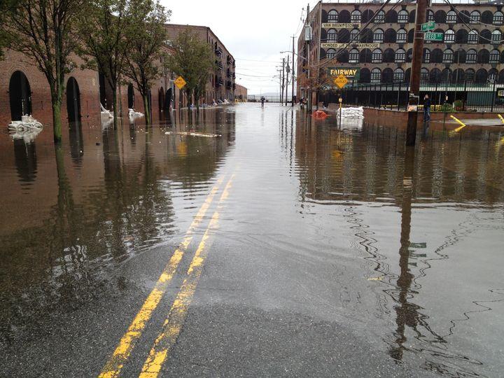 Red Hook Residents Survey Flood Damage, Begin Cleanup