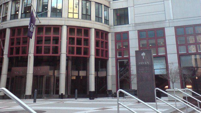 Description NYU Stern School of Business building in Greenwich Village, Manhattan, New York.  |  Source | Date | Author pundi
