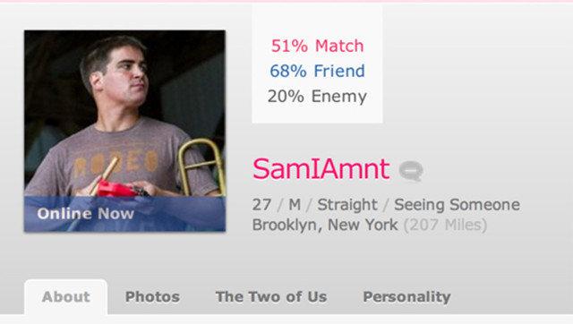 Online dating profile okcupid