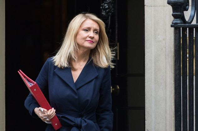 Esther McVey said the government's changes to Universal Credit had won support from Mind