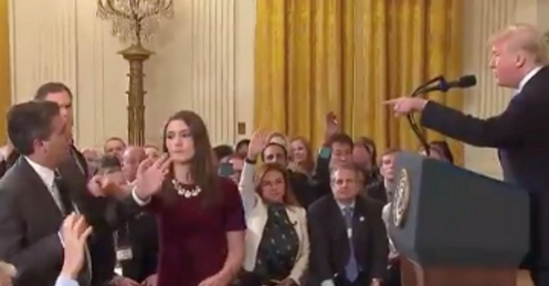 Donald Trump Rips Into CNN's Jim Acosta: 'You Are A Rude, Terrible Person'