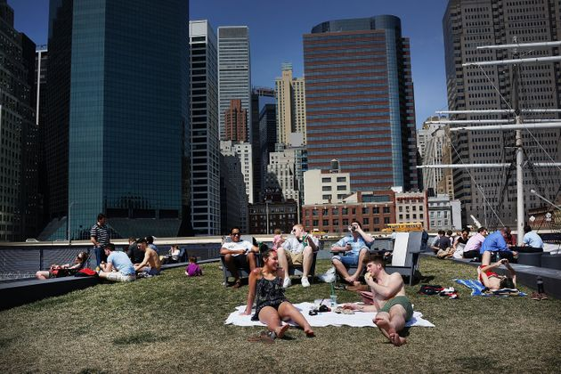 New York City Weather The Warmest In Months, New Yorkers