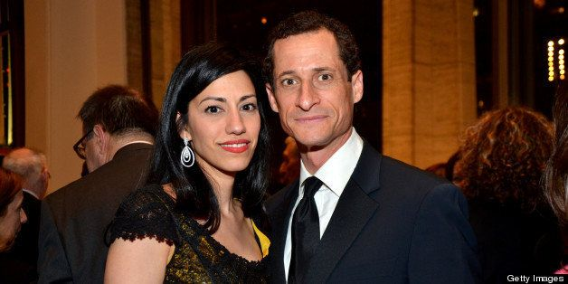 Huma Abedin, who served as adviser and aide to former Secretary of State Hillary Clinton, and former U.S. Representative Anth