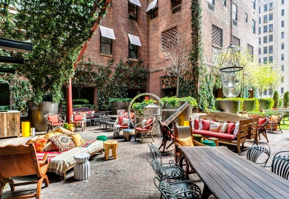 <strong>Tacos</strong> are as hot as ever, and the rooftop of the Hudson Hotel is serving exotic tacos, like pineapple chili-