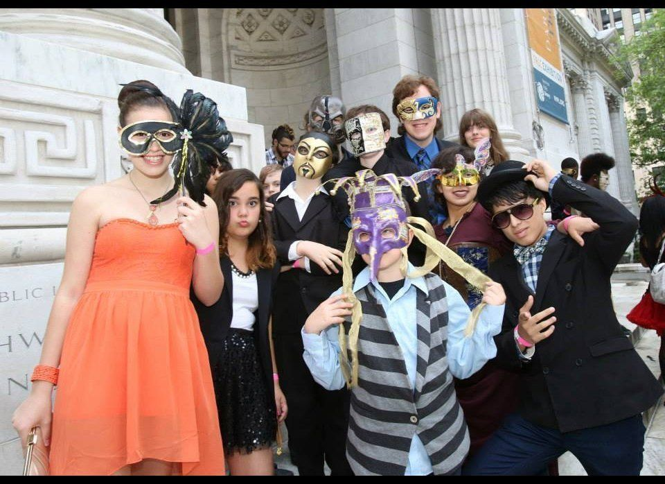 Party goers Gather at The Stephen A. Schwarzman Building