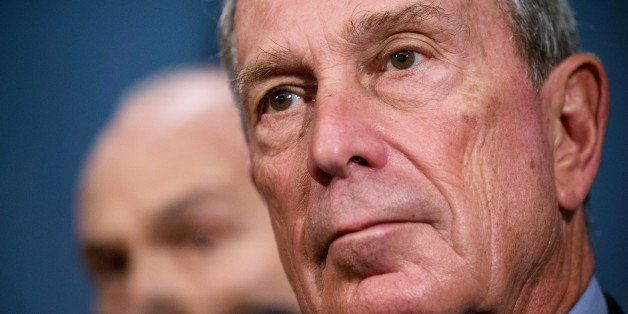 NEW YORK, NY - AUGUST 12:  New York City Mayor Michael Bloomberg speaks at a press conference with New York Police Department