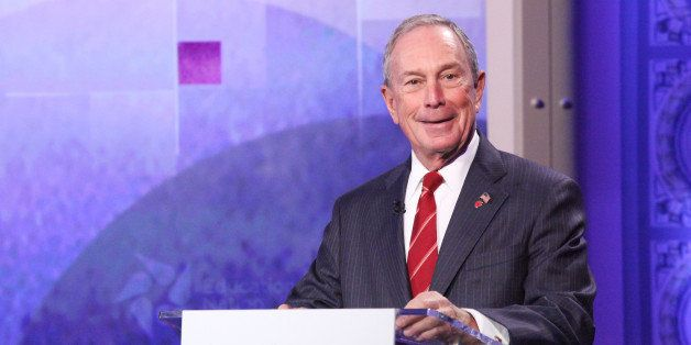 NBC NEWS - EDUCATION NATION -- 2013 Education Nation Summit -- Pictured:  Michael Bloomberg, Mayor of New York City. -- (Phot