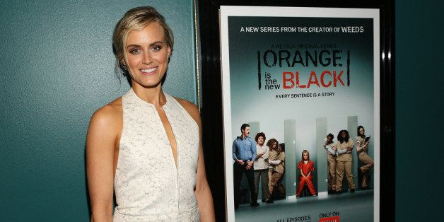 SANTA MONICA, CA - JUNE 17:  Actress Taylor Schilling attends the Netflix Presents 'Orange Is The New Black' Special Screenin