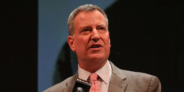 NEW YORK, NY - JANUARY 20:  New York City Mayor Bill de Blasio attends the 28th Annual Brooklyn Tribute to Dr. Martin Luther