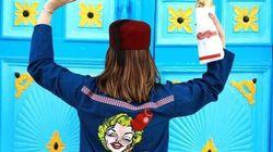 Peinture sur Dengri: Découvrez les Créations Karim Braham, la mode à la