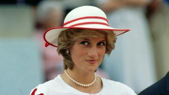 Princess Diana's 'naughty' birthday card up for auction