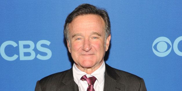 NEW YORK, NY - MAY 15:  Robin Williams attends CBS 2013 Upfront Presentation at The Tent at Lincoln Center on May 15, 2013 in