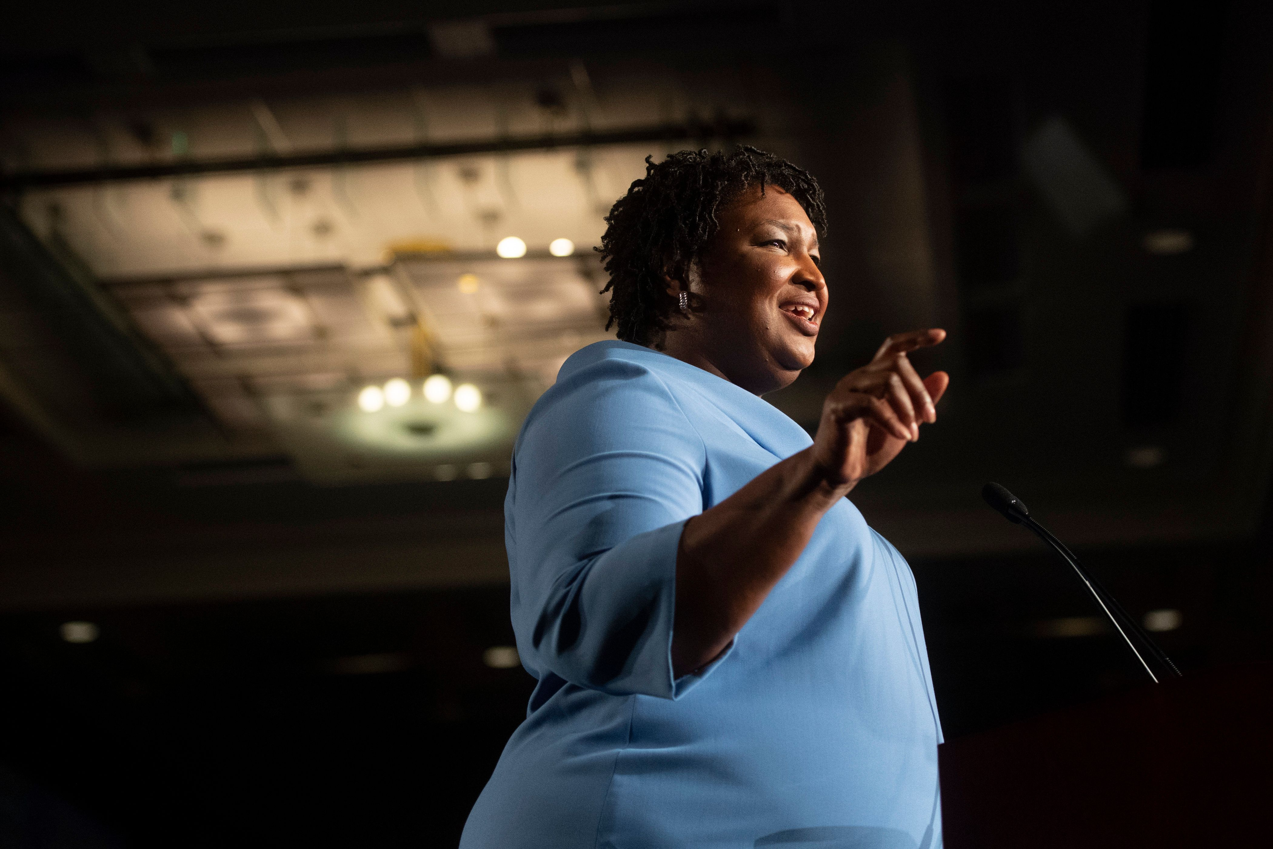 Stacey Abrams still has a chance to become the governor of Georgia.