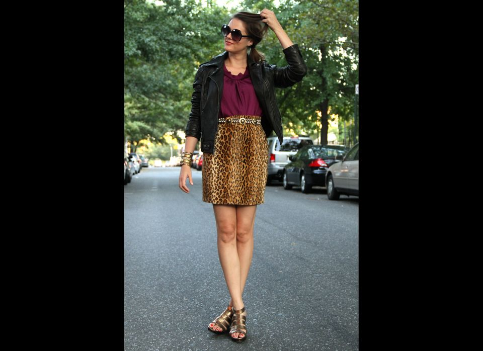 """Check Out: <a href=""""http://whatiwore.tumblr.com/"""" target=""""_hplink"""">What I Wore</a>  Proud Park Slope resident Jessica Quirk"""