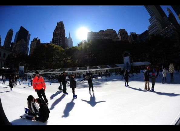 The chilly weather has mostly dampened outdoor exercise with the exception of ice skating.  The charming activity is also a g