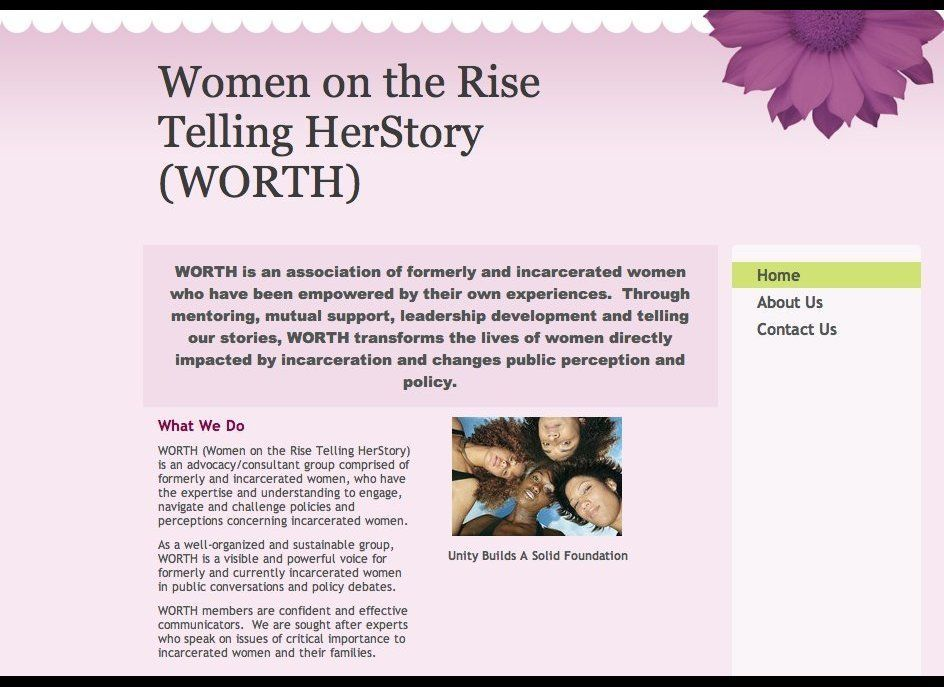 """Janet Kleinman: I am particularly impressed by a group called <a href=""""http://www.womenontherise-worth.org/home"""" target=""""_hpl"""