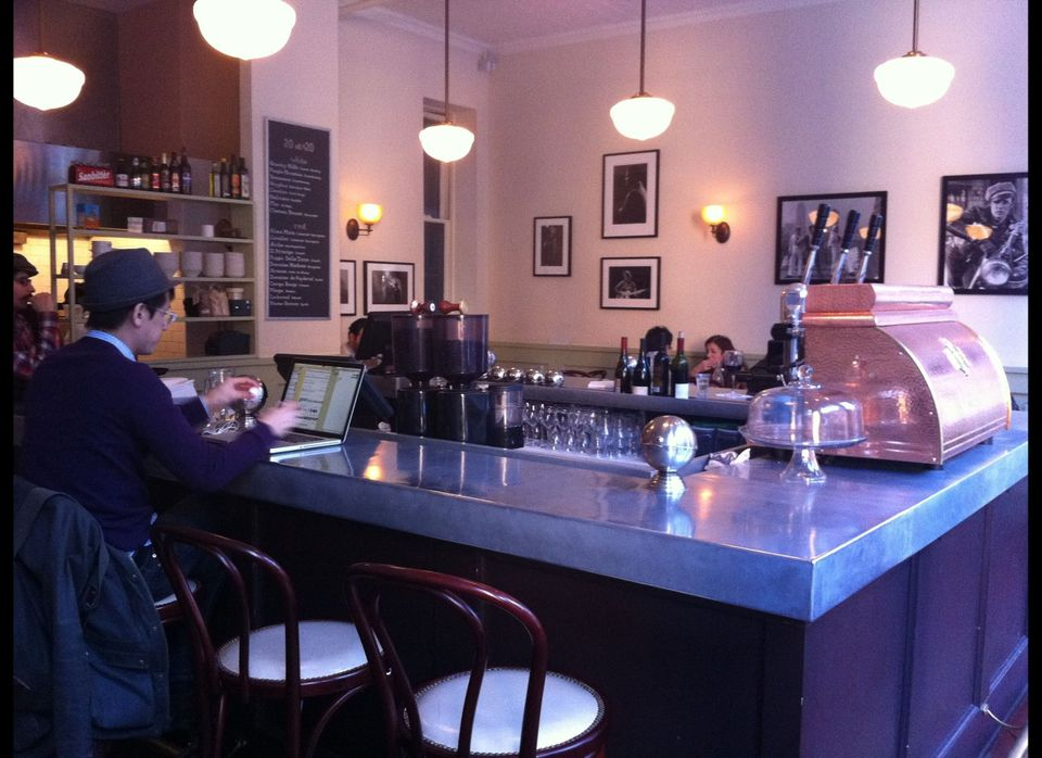 Cafe Minerva is a newcomer to the West Village coffee scene and it's already among my favorite places in the neighborhood.  W