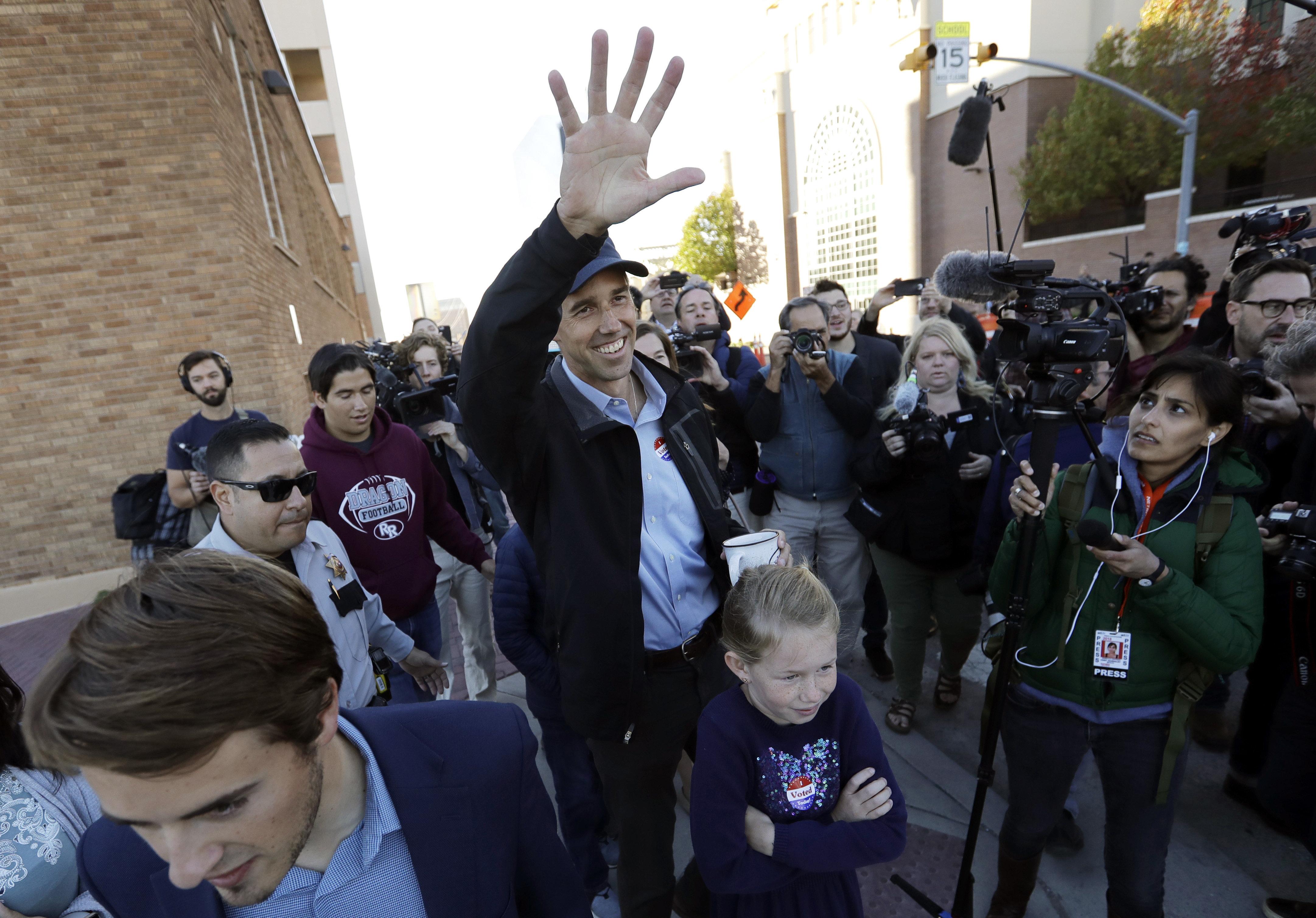 Democrat Beto O'Rourke lost his quixotic bid to unseat GOP Sen. Ted Cruz in Texas. But O'Rourke's run left his party in a far