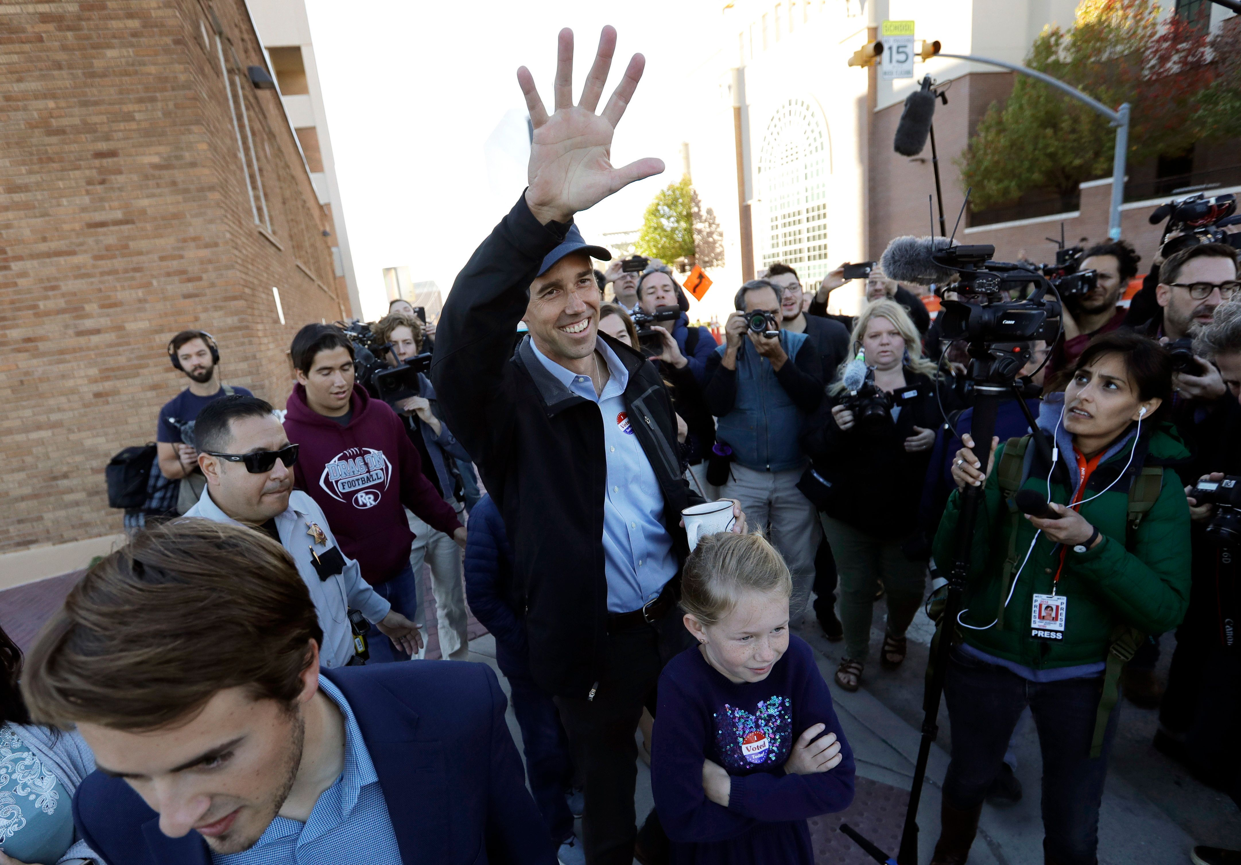 Democrat Beto O'Rourke lost his quixotic bid to unseat GOP Sen. Ted Cruz in Texas. But O'Rourke's run left his party in a far