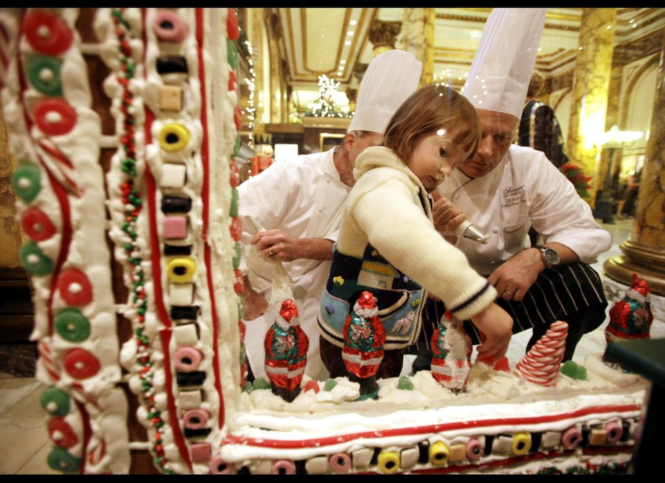 """One of our favorite holiday traditions, the <a href=""""http://www.fairmont.com/sanfrancisco/Vanity/TheFairmontSanFranciscoGinge"""