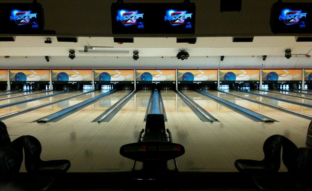 Union square bowling alley