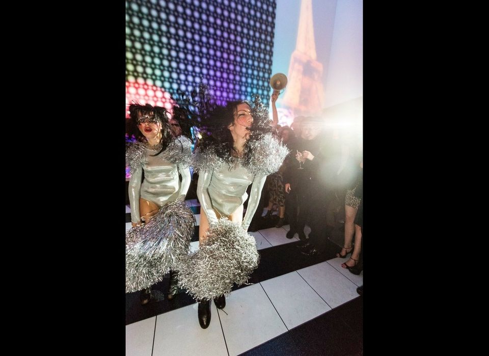 Dancers at Le Grand Fete.