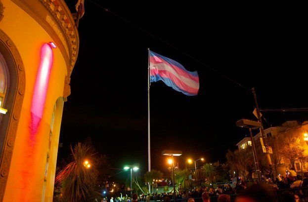 Transgender Flag Flies In San Francisco's Castro District After Outrage From
