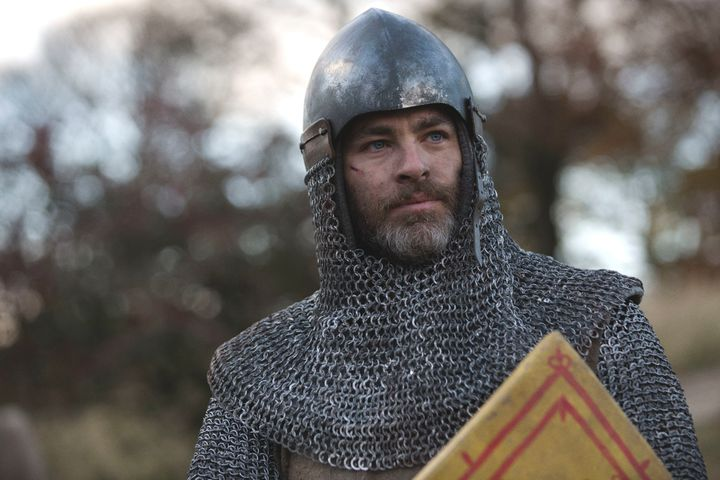 "Chris Pine's not penis in ""Outlaw King."""