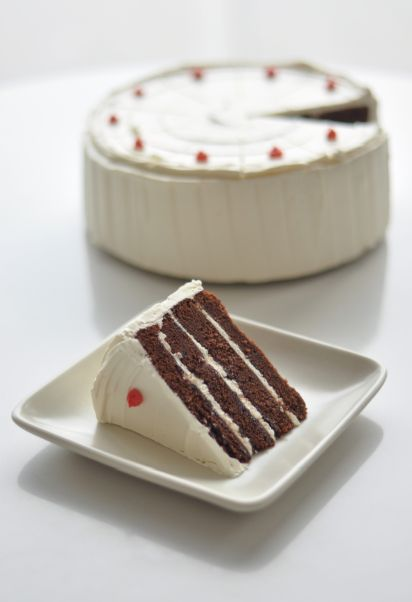 Wayne Thiebaud's famous Display Cakes was what inspired Freeman's career trajectory in the first place. Her trio of carefully