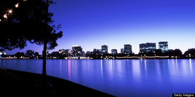 Lake Merritt , Oakland , California , USA