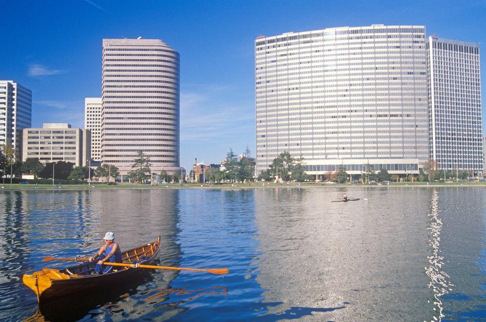 "Oakland's most beloved body of water <a href=""http://www.sfgate.com/bayarea/article/Oakland-celebrates-Lake-Merritt-revival-4"