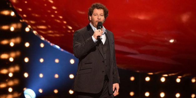 CULVER CITY, CA - JUNE 07:  Comedian Jeff Ross speaks onstage during Spike TV's 'Guys Choice 2014' at Sony Pictures Studios o
