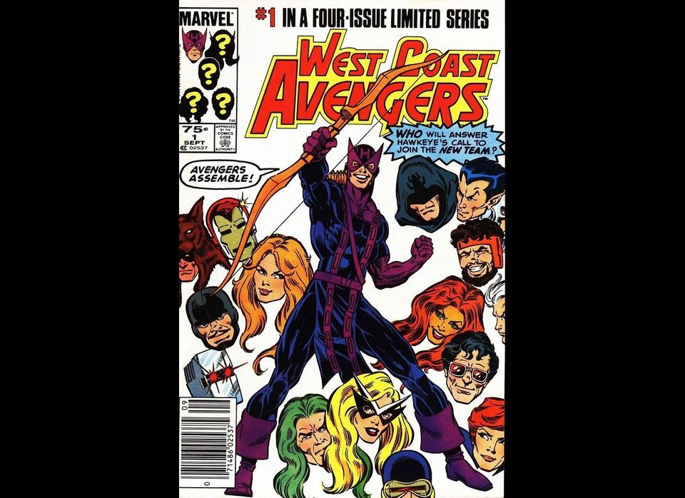 Marvel Comics editors sent Anthony Smith a 1984 cover featuring Hawkeye, a superhero whose hearing was temporarily damaged by