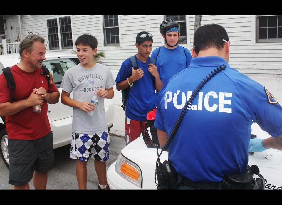 A scout troop from New Jersey helped apprehend a thief in Key West. They then helped find the stolen iPhone too. Here they ar