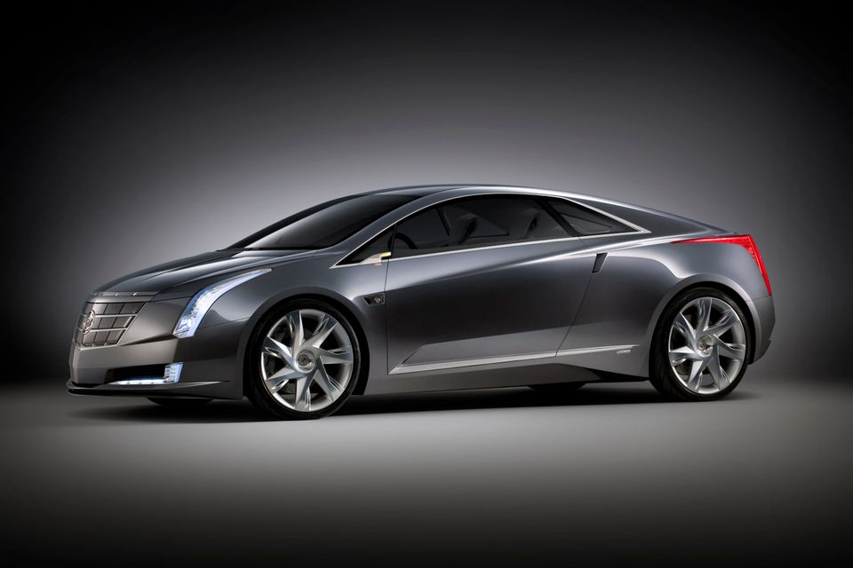 In a 2009 handout photo from General Motors, a 2009 Cadillac Converj Concept is shown. The automaker plans on making the conc