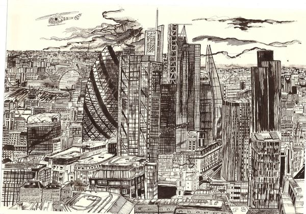 John Dolan - Skyscrapers