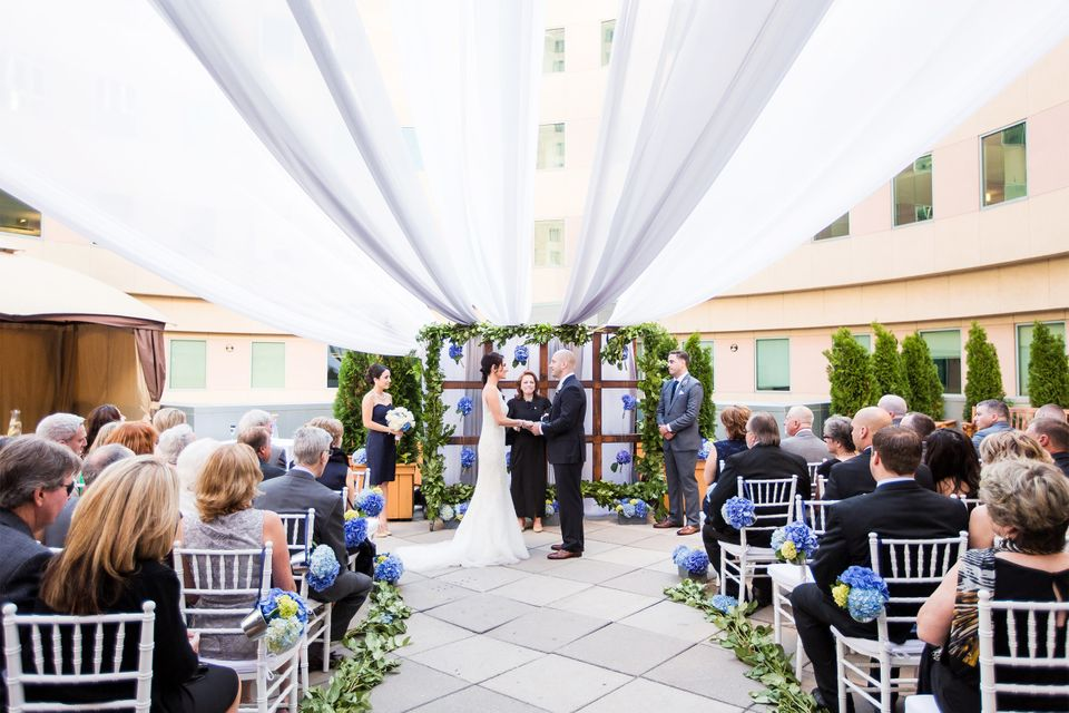 On Aug. 23, James Costello, who was severely injured in the 2013 Boston Marathon attack, married Krista D'Agostino, a nurse w