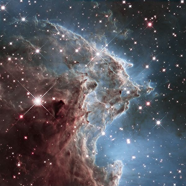 "This Hubble Space Telescope photo shows NGC 2174, the <a href=""http://hubblesite.org/newscenter/archive/releases/2014/18/imag"