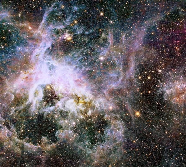 "An image of the <a href=""http://hubblesite.org/newscenter/archive/releases/2014/02/image/a/"" target=""_blank"">Tarantula Nebula"