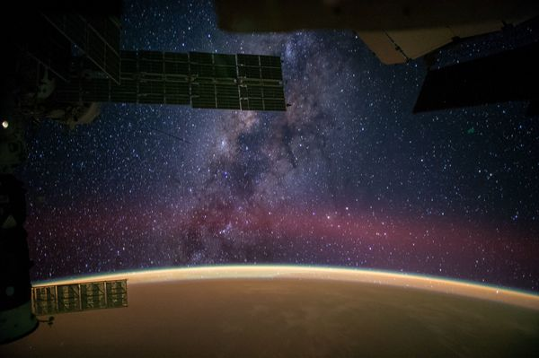"""NASA astronaut Reid Wiseman captured this image from the International Space Station and tweeted it on Sept. 28, writing, """"<a"""