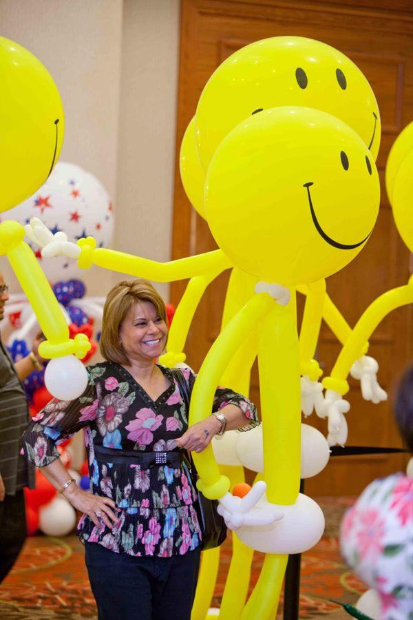You just can't help but smile at the Festival of Balloons! This family-friendly event features incredible works of art by bal