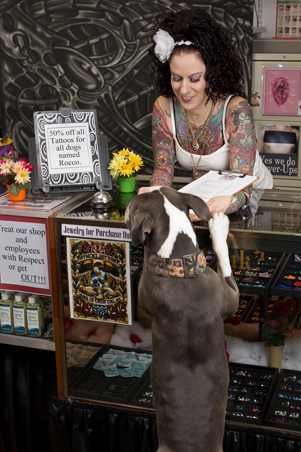 """See more from the Tattoos & Rescues photo series on <a href=""""http://www.brimanphoto.com/"""">Brian Batista's website</a>"""