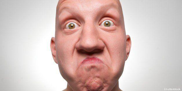 bald actor face
